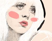 Billie Eilish - Happier Than Ever Illutration