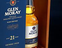 Glen Moray Distillery | Elgin Heritage, 21 YO