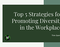 Tim Gentry | Diversity in the Workplace