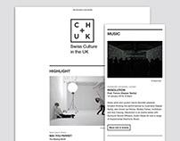 CH+UK | MailChimp Newsletter