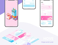 Psychological Therapy Assitance App Concept Design