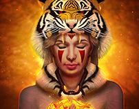 Princess Mononoke Tiger Version