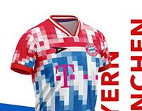 Pixel Football Kits.