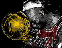 Michael Jordan Illustrations