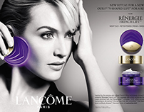 Creating Thai Copywritng on Lancôme Print-Ad
