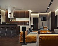 Modern Appartment Design 3D Visuaization
