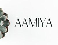 Aamiya - Free Serif Typeface
