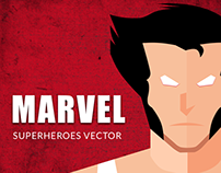 Marvel Superheroes Vector design