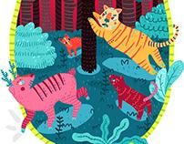 El Tigre y El Venado