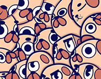 Pug invasion