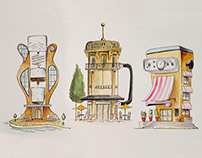 Kafetecture - the world of coffee houses