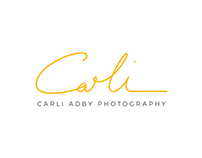 Carli Adby Photography logo and stationary design
