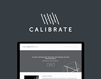 Calibrate Pilates: Brand and Web design