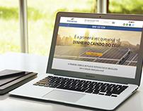 Design do site da empresa Eletrobraso