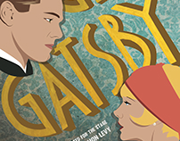 The Great Gatsby Play Poster
