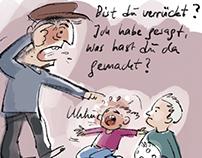 Cartoon paradox