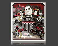 SQUARE ENIX // Sleeping Dogs Print Finishes
