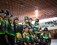 Torneo Roller Derby femenil 2015