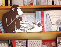 The Last Word Bookstore: Branding + Web design