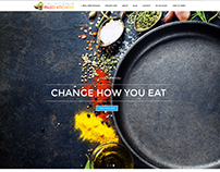 eCommerce food delivery website for Paleo Chef