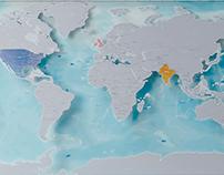 Scratch Map Oceans Edition
