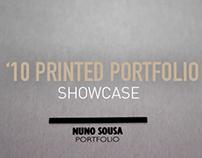 Printed Portfolio '10