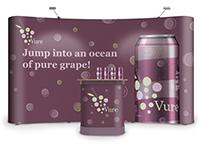 Vure Beverage Branding