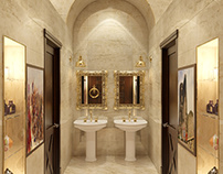 History museum's wc design