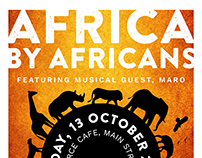 Nonprofit Gallery Show Poster Design | Uganda, Africa