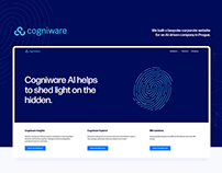 Cogniware website redesign