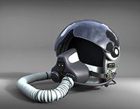 Flight Helmet Rhino Model