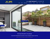 APT Renovation Website Design & Development