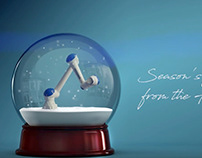 Yaskawa Europe 2018 season's greetings