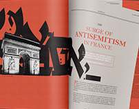The Surge of Antisemitism in France: Magazine Spread