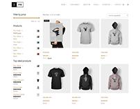 Shop Template - Ink Blog WordPress Theme