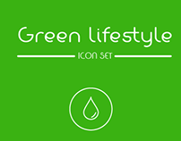 Green lifestyle- Icon set