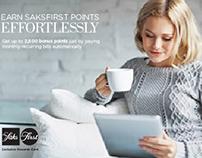 Saks Fifth Avenue | DM + E-mail | Capital One