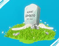 Uderzo / Asterix / Homenaje