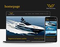 Homepage - World Yacht Group