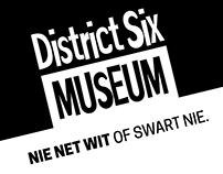STUDENT WORK | District Six Museum