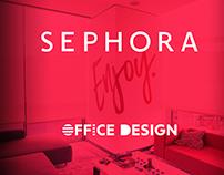 SEPHORA Turkey Office Design