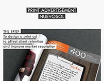 Nuevosol - Magazine Ad