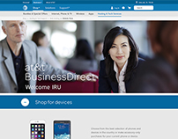 AT&T Design Jam — redesign AT&T BusinessDirect® Page