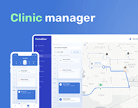 Clinic manager concept