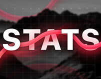 Stats. Graphic concept