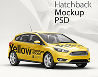 Hatchback 5-Door HQ Mockup Pack