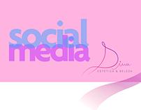Social Media Dina Estética - 2018