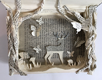 Book Art- Deerly Beloved