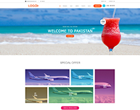 Travel Agency Web templete