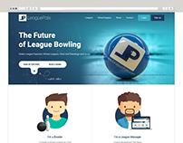 LeaguePals online Bowling website